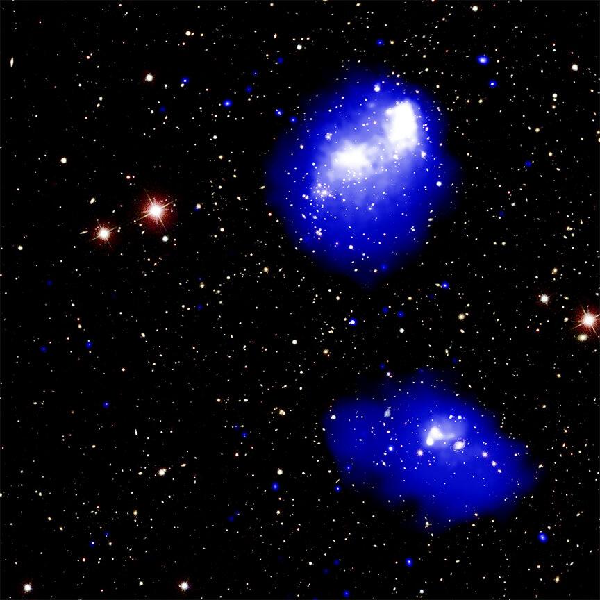 Mehrere Galaxienhaufen