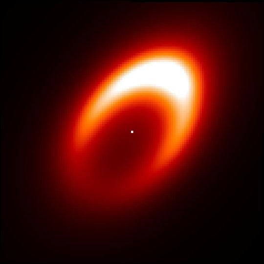 Astronomen sehen Wirbelwind um möglicherweise gerade entstehenden Exoplaneten