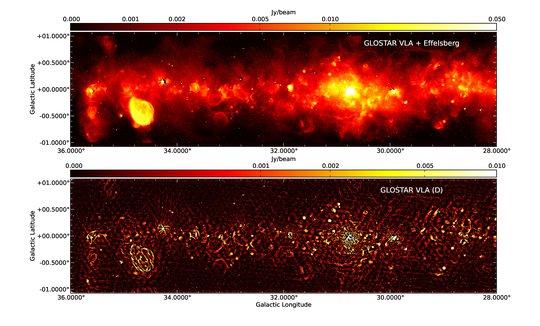 GLOSTAR – auf der Suche nach atomarem und molekularem Gas in der Milchstraße